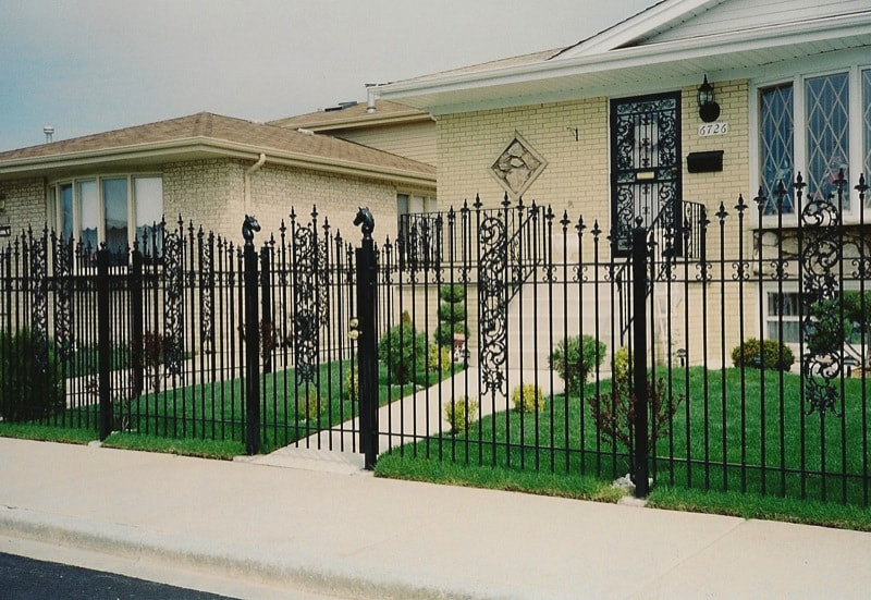 Iron Fences From Los Angeles Fence Builders